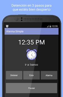 Alarma Simple