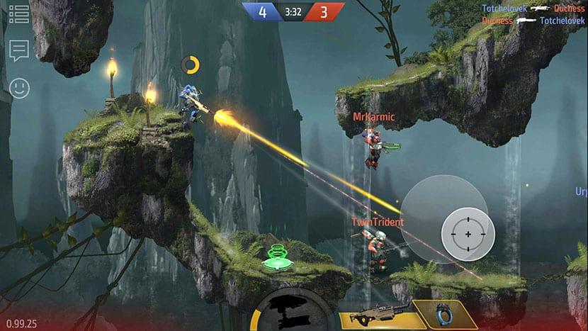 Armajet, un frenético shooter multijugador 'cross-plataform' con gráficos de consola y mucha acción