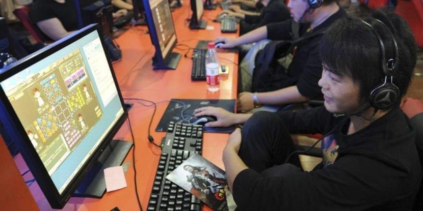 Adicción a los videojuegos en China