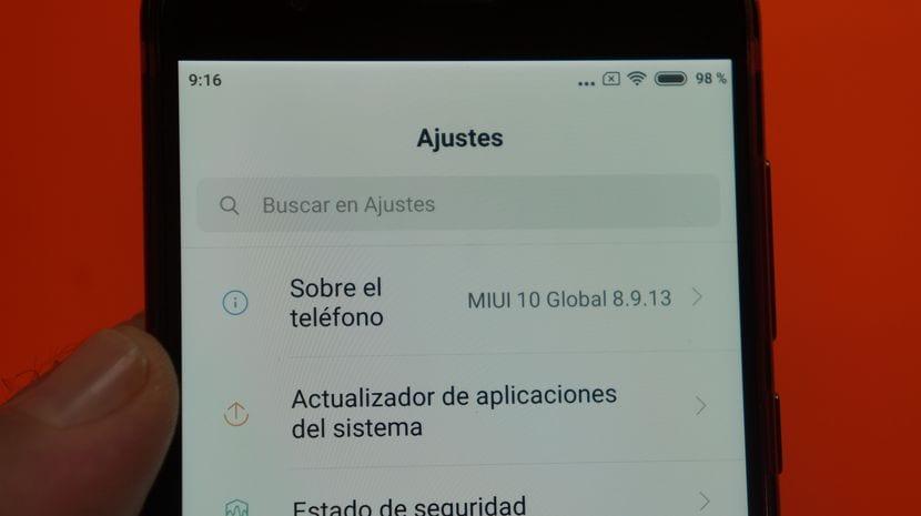 Cómo actualizar Xiaomi a MIUI 10