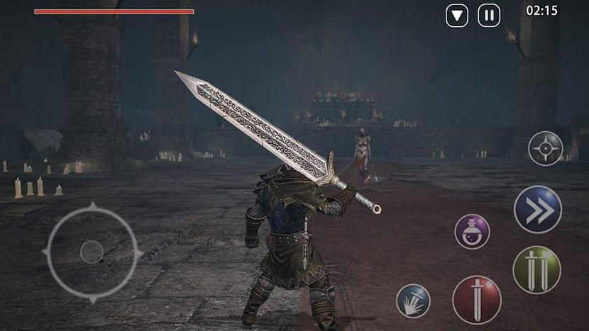 Héroe con su espada en Harbinger
