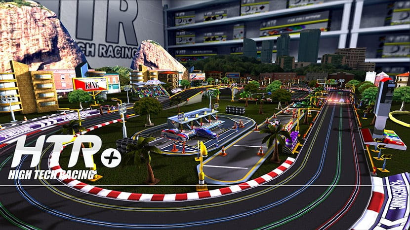 XcaleHTR+ Slot Car Simulation