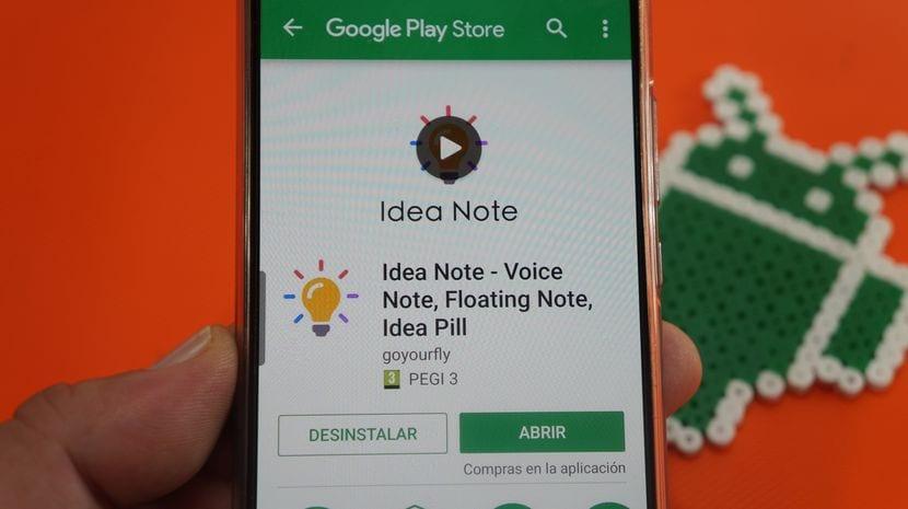 ¡¡Increible aplicación de notas para Android!!