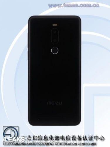 Meizu M8 en TENAA
