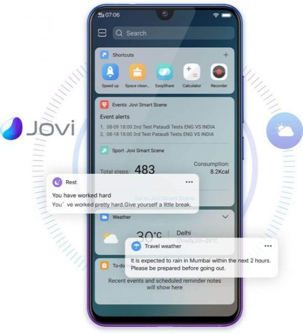 Jovi, el asistende del Vivo V11