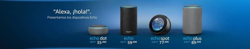 Amazon Echo lanzamiento