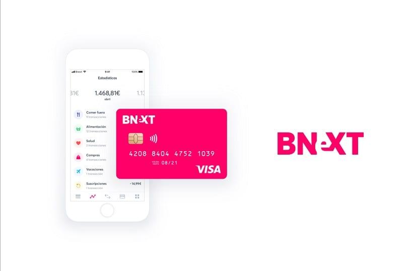 Bnext tarjeta app
