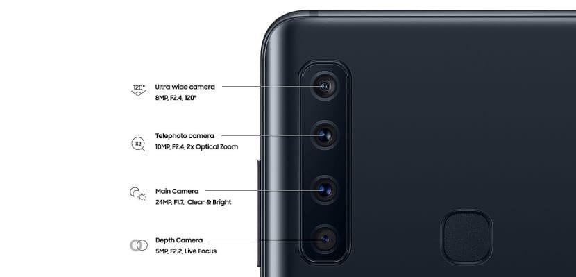 Galaxy A9 2018 camara