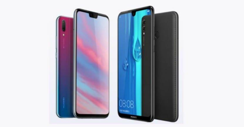 Huawei Enjoy 9 Plus y Enjoy Max