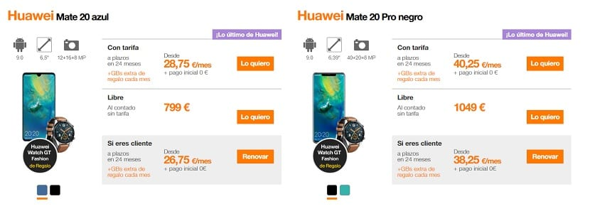 Huawei Mate 20(veinte) Orange
