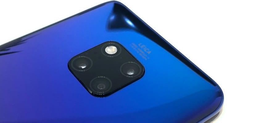 Huawei Mate 20 X cámara