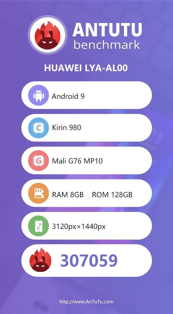 Huawei Mate 20 Pro en AnTuTu