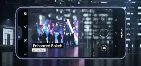 Apartado fotográfico del Nokia 7.1