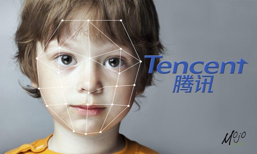 Reconocimiento facial de Tencent