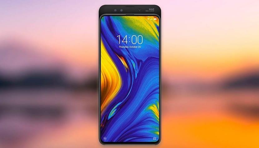 Xiaomi Mi Mix 3 pantalla