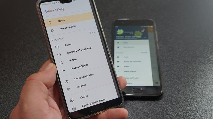 [APK] Descarga la nueva versión de Google Keep con diseño totalmente actualizado a lo Android Pie