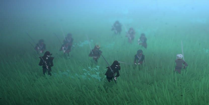 Combate entre samurais