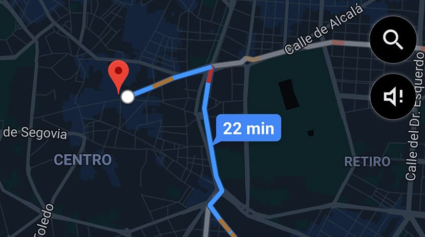 Cómo activar el tema oscuro en Google Maps