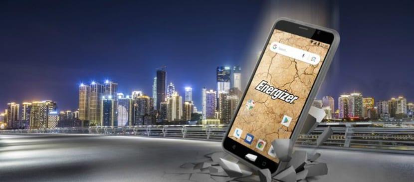 Energizer E500S oficial en Europa con Android Go