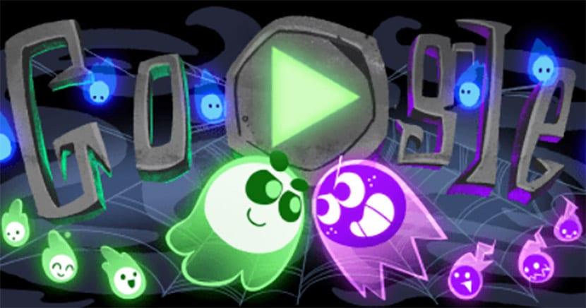 Google en Halloween