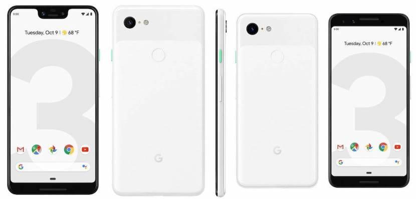 Pixel 3 XL y Pixel 3