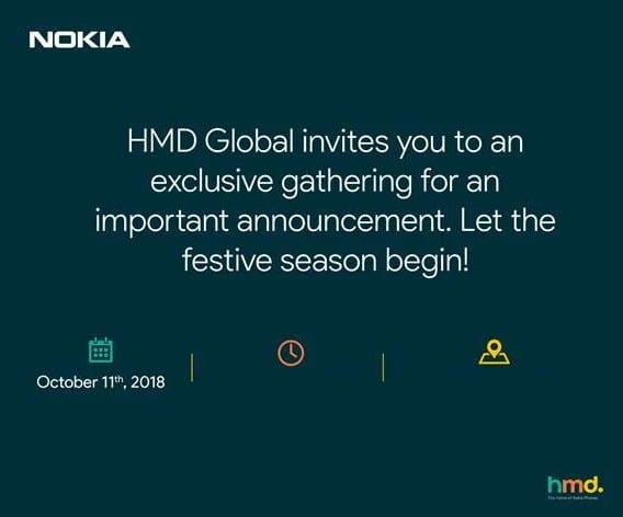 Invitación HMD Global