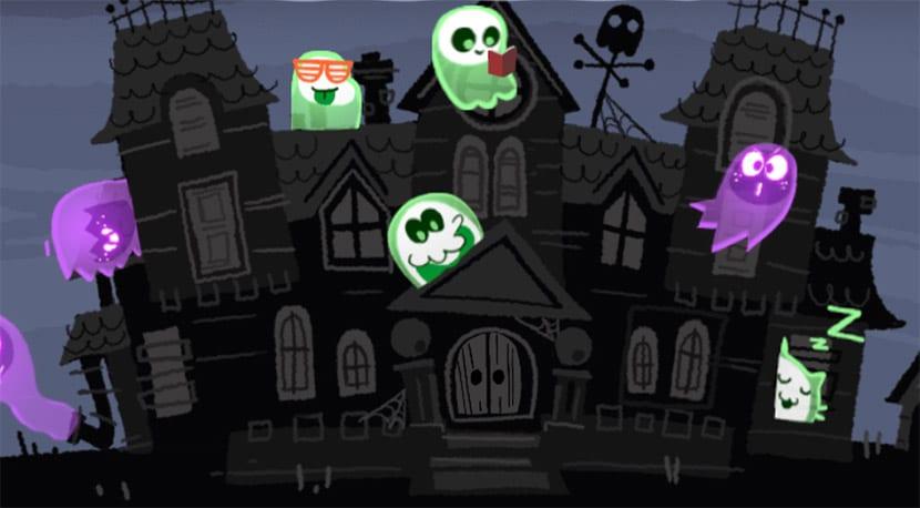 Juego de Google para Halloween