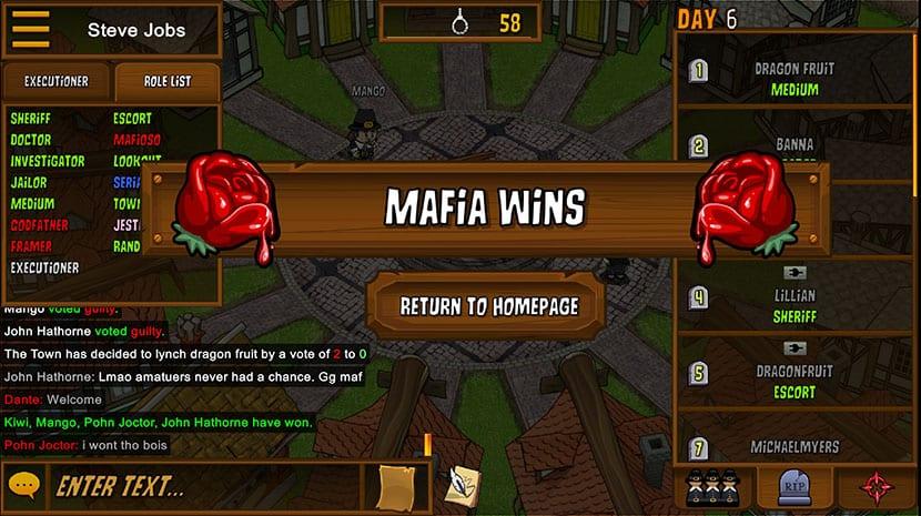 Mafia gana