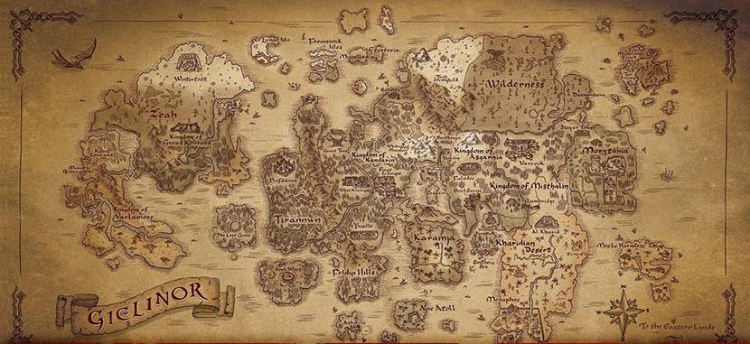 Mapa de RuneQuest