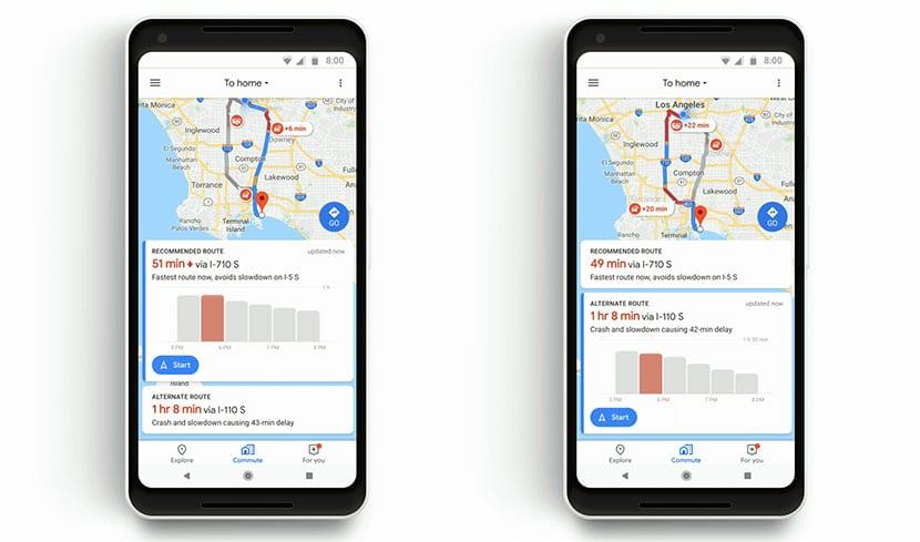 Maps incidentes