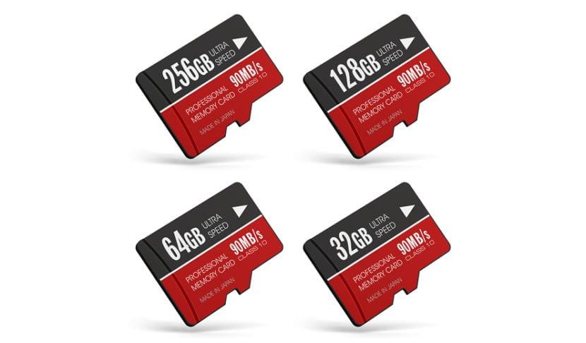 Elegir las mejores tarjetas microSD para teléfonos