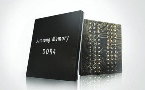 Samsung inicia la producción en masa de módulos de 12 GB de RAM para teléfonos