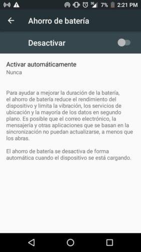 Cómo activar el modo ahorro de batería en Android y de qué sirve