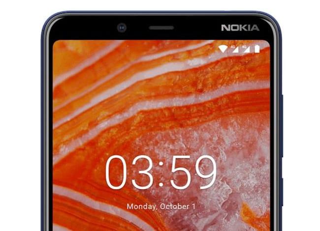Características del Nokia 3.1 Plus