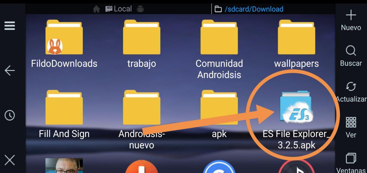 Descargar ES File Explorer 3.2.5