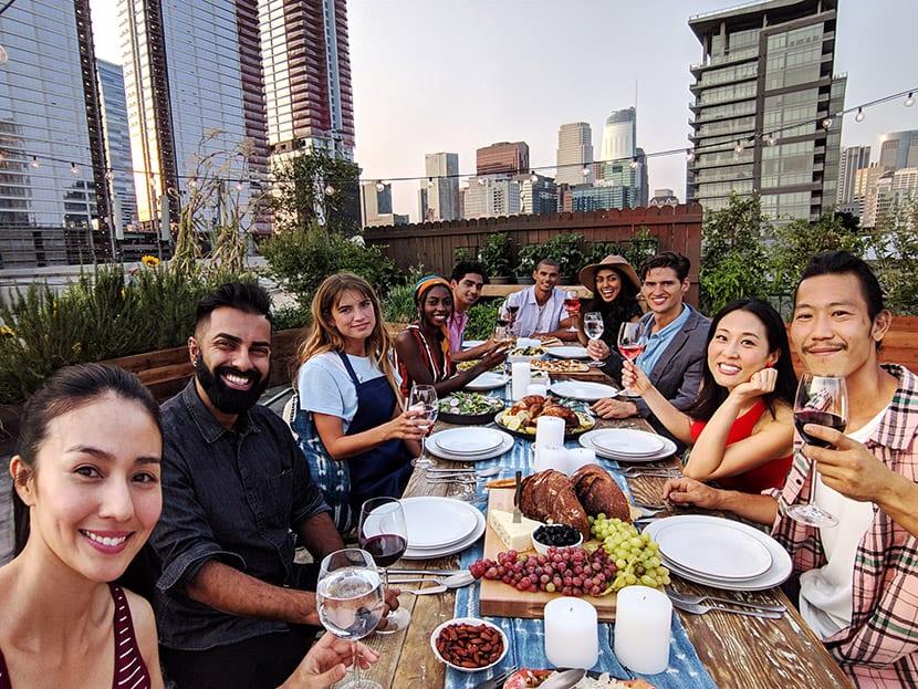 Selfies en familia con el Pixel 3 de Google