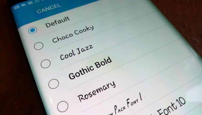 Cómo cambiar la fuente de tu Android