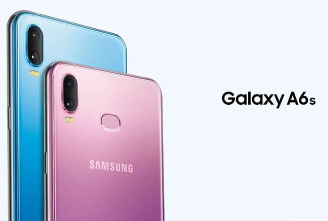 Precio y disponibilidad del <stro />Samsung</strong>® Galaxy A6s&#8221; width=&#8221;830&#8243; height=&#8221;561&#8243; srcset=&#8221;<a target=