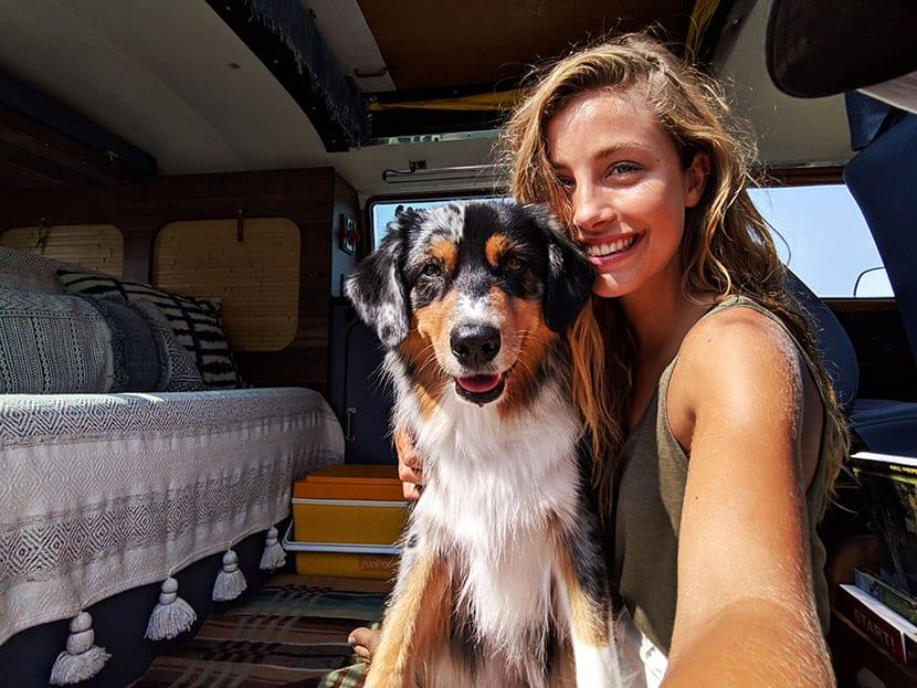 Selfie con perro con el Pixel 3 de Google