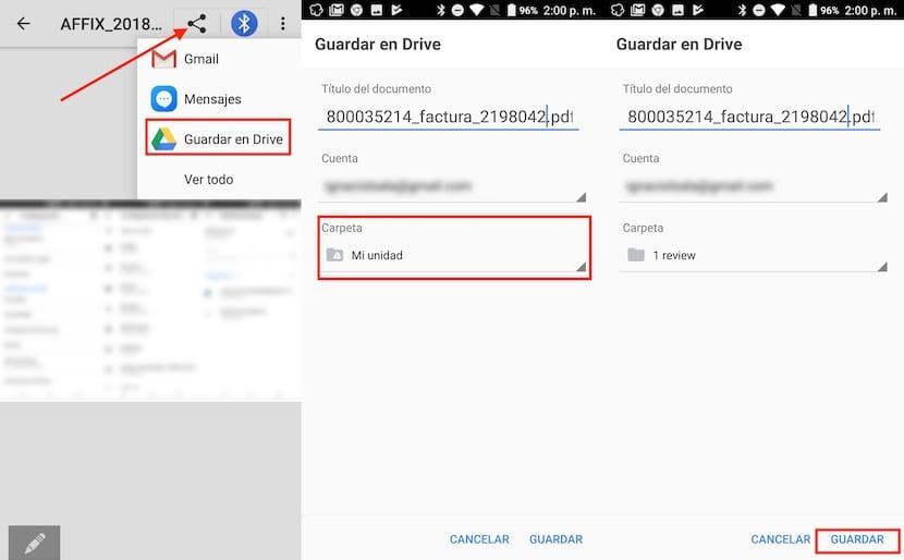 Subir archivos a Google Drive desde Android