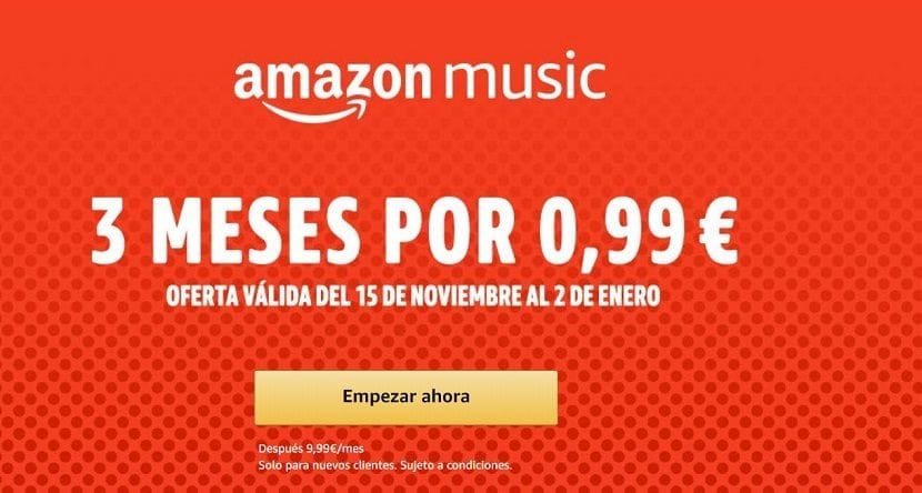 Amazon Music Unlimited promocion