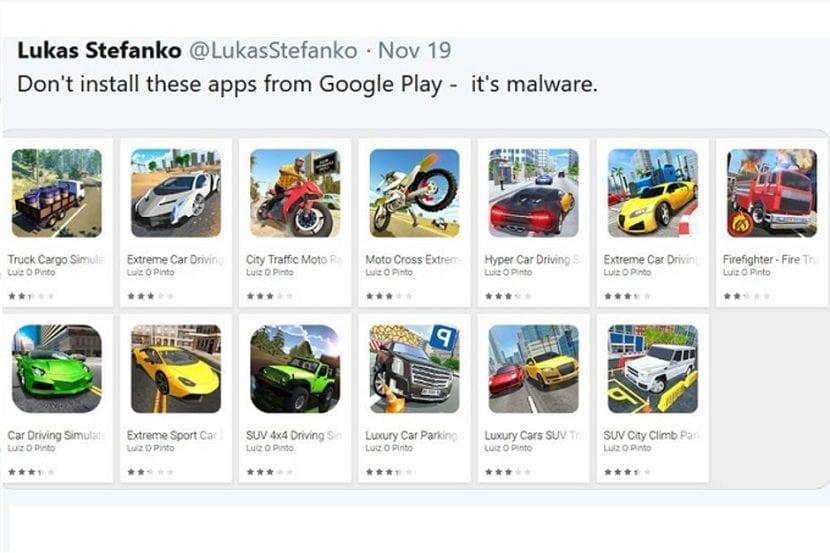 Apps maliciosas