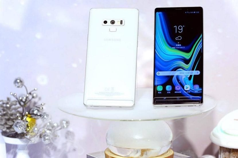 Galaxy Note 9 blanco