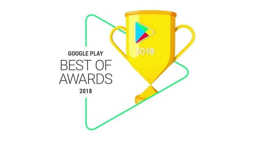 Google Play Best Of 2018 Awards