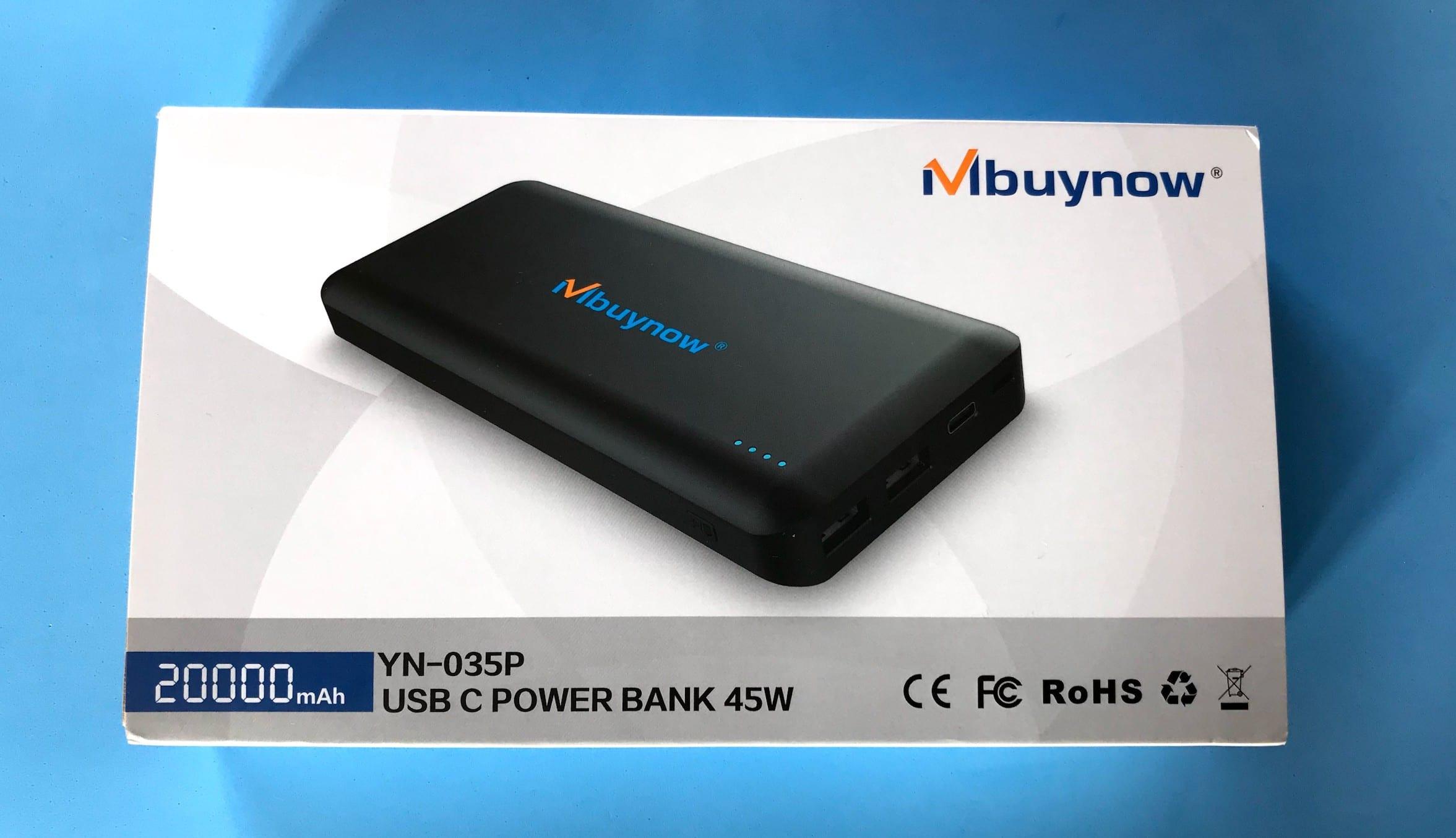 Mbuynow batería externa caja