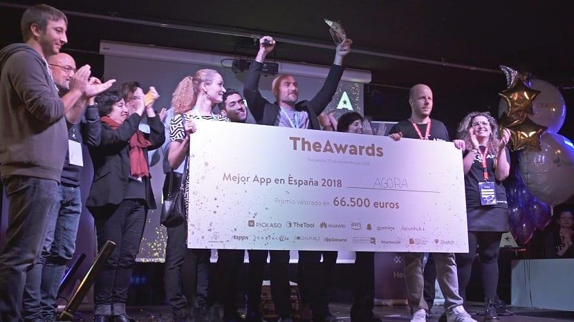 TheAwards Agora ganador