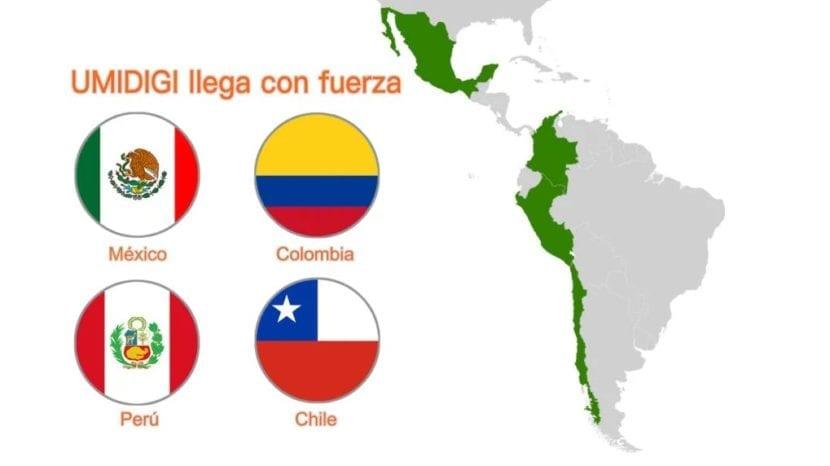 UMIDIGI ingresará en el mercado latinoamericano el próximo Viernes Negro