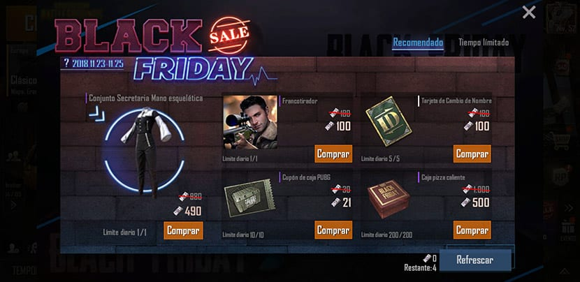 Black Friday PUBG Mobile