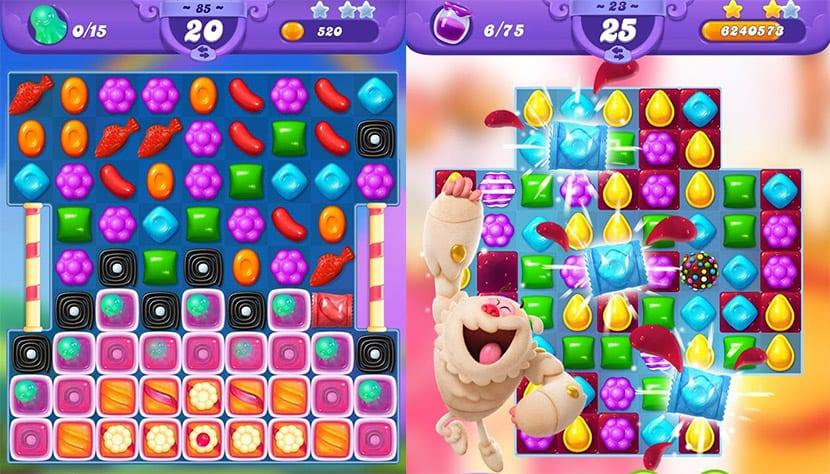 Más caramelos de parte de King con Candy Crush Friends Saga