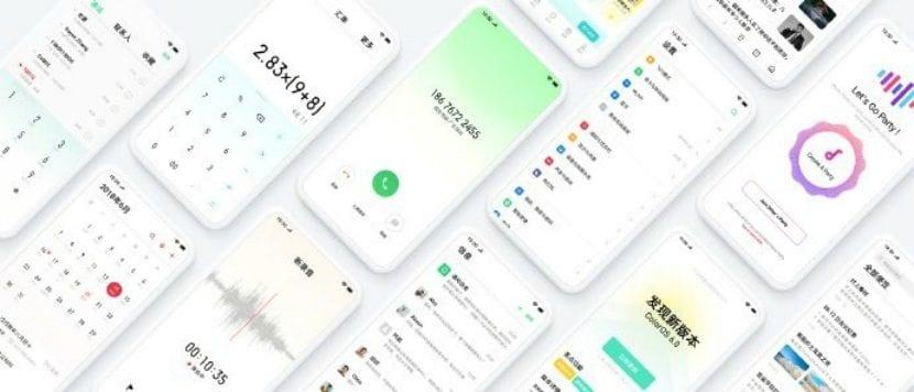 Características y diseño de ColorOS 6.0